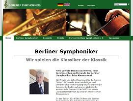 Berliner Symphoniker - klassische Konzerte
