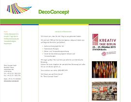 Deco Concept - Werbefolien, Messen, Wahlplakate