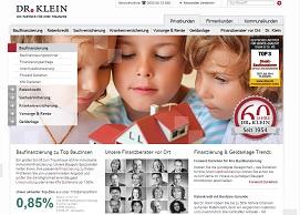 Dr. Klein - Versicherung, Finanzierung