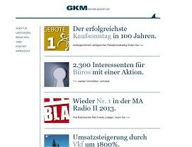 GKM - Gesellschaft für Kommunikation und Marketing