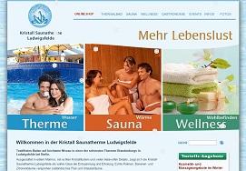 Kristall Saunatherme Ludwigsfelde - Wellness, Sportbad