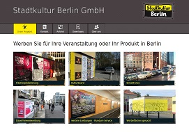 Stadtkultur Berlin - Plakatwerbung, Kulturwerbung