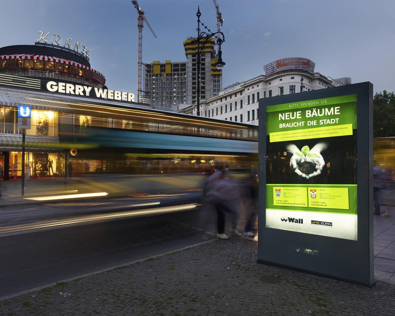 city light poster berlin tepass au enwerbung. Black Bedroom Furniture Sets. Home Design Ideas