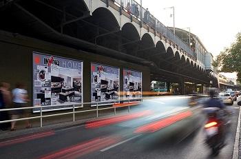 Großflächen, Straßenland, 18/1-Plakate, Berlin, Plakatwerbung