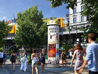 Plakatwerbung, Litfaßsäulenwerbung, Allgemeinstelle, Berlin