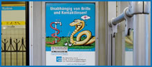 Seitenwandflächen U-Bahn Werbung, Berlin (U-Bahn Innenwerbung)